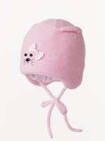 "Демисезонная шапочка ""Умка-Д лайт"" розовая"