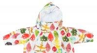 MAMMIE Конверт для новорожденного с рукавами, цвет листики