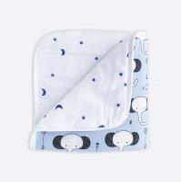 Муслиновое утеплённое одеяло Mjölk Слоники