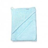 Комплект (Махровая пеленка с уголком+платочек) ментол