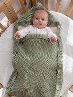 Конверт для малышей , светло-фисташковый