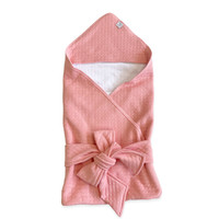 Плед-конверт из капитония Розовый персик