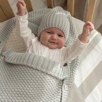 Конверт для малышей, серо-бежевый