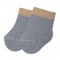 Носки серые с кантом