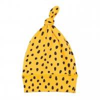 Шапочка-колпачок цвет Желтый в крапинку