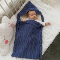 Конверт для малышей, темно-синий