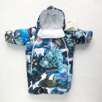 MAMMIE Конверт для новорожденного с рукавами, волшебные сны
