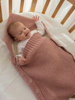 Конверт для малышей, пепельно-розовый
