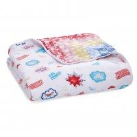 Муслиновое одеяло Wonder Woman™ - Power Pop 112х112 см