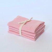 Сет из 4х муслиновых салфеток Rose Quartz