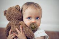 Соска-пустышка BIBS Colour Baby Blue 6-18 месяцев