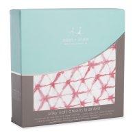 Одеяло бамбуковое berry shibori aden+anais
