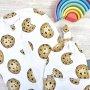 Комплект (Пеленальный кокон и шапочка) Печенье