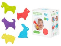 Мини-коврики детские противоскользящие для ванной ROXY-KIDS, 15 шт