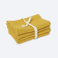 Сет из 4х муслиновых салфеток Mustard