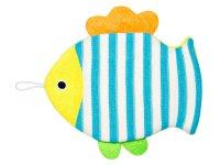 Мочалка детская для купания малышей Рыбка