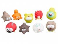 Игрушки для ванной для детей ROXY-KIDS Лесные жители, 9 шт