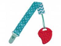 Прорезыватель для детей на держателе ROXY-KIDS, цвет мятный