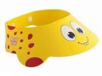 Козырек для купания ребенка и мытья головы детский защитный ROXY-KIDS Желтый жирафик